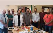 جلسه مشترک اعضای هیات مدیره کانون کارگردانان سینمای ایران باهیات مدیره انجمن صنفی عکاسان سینما