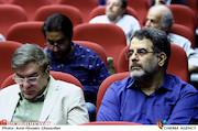 محسن امیریوسفی در آیین تکریم و معارفه مدیران سازمان سینمایی