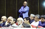 مسعود نجفی در آیین تکریم و معارفه مدیران سازمان سینمایی