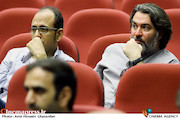 کاوه سجادی حسینی در آیین تکریم و معارفه مدیران سازمان سینمایی