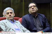 روح الله حسینی در آیین تکریم و معارفه مدیران سازمان سینمایی