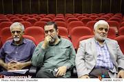 حسن سعدی، سیدمحمود رضوی و محمد احمدی در آیین تکریم و معارفه مدیران سازمان سینمایی