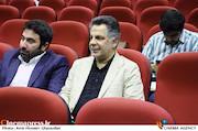 محمدحسین فرحبخش و سیداحد میکائیل زاده در آیین تکریم و معارفه مدیران سازمان سینمایی