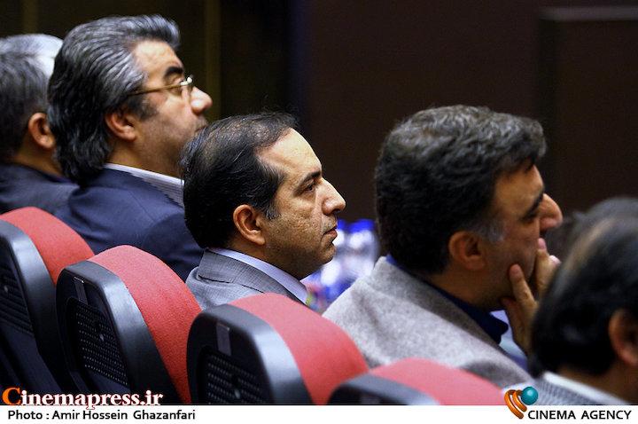 حسین انتظامی در آیین تکریم و معارفه مدیران سازمان سینمایی