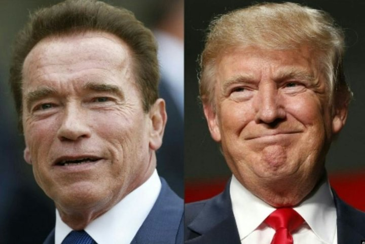 دونالد ترامپ و آرنولد شوارتزنگر