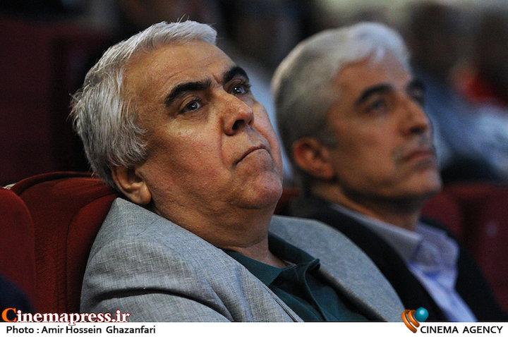 سیدضیاء هاشمی در مراسم شب «مجید قاریزاده»