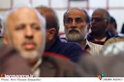 حبیب الله بهمنی در مراسم تکریم و معارفه مدیرعامل انجمن سینمای انقلاب و دفاع مقدس