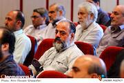 جواد افشار در مراسم تکریم و معارفه مدیرعامل انجمن سینمای انقلاب و دفاع مقدس