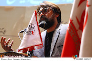 سخنرانی رضا ایرانمنش در مراسم تکریم و معارفه مدیرعامل انجمن سینمای انقلاب و دفاع مقدس