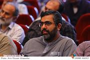 روح الله شمقدری در مراسم تکریم و معارفه مدیرعامل انجمن سینمای انقلاب و دفاع مقدس