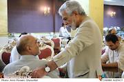 منوچهر شاهسواری و منوچهر محمدی در مراسم تقدیر از نامزدهای بیست و یکمین جشن سینمای ایران
