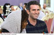 هوتن شکیبا در مراسم تقدیر از نامزدهای بیست و یکمین جشن سینمای ایران