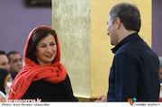 لیلی رشیدی در مراسم تقدیر از نامزدهای بیست و یکمین جشن سینمای ایران