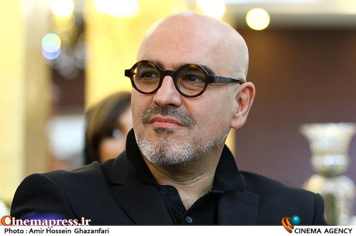 رامین حیدری فاروقی در مراسم تقدیر از نامزدهای بیست و یکمین جشن سینمای ایران