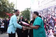 پویش دوشنبههای ورزشی رادیو ورزش در بوستان شقایق