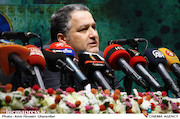 علیرضا تابش در نشست خبری سی و دومین جشنواره فیلم های کودکان و نوجوانان