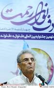 بیژن کامکار در نشست خبری نهمین جشنواره بین المللی «دف نوای رحمت»