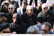 مراسم تشییع پیکر مرحوم «داریوش اسدزاده»