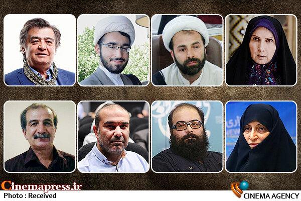 دالوند-افتخاری-حکمی-عباس میرزایی-باقری قمی-آذین-رویگری-سعیدی