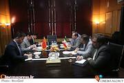 دیدار سفیر چین با رئیس سازمان سینمایی