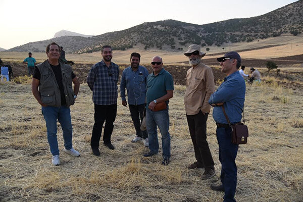 بازدید مدیران سیمافیلم از پشت صحنه سریال تلویزیونی «ایل دا»