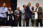 تجلیل از کیانوش عیاری در مراسم افتتاحیه هفتمین جشنواره فیلم مستقل «خورشید»
