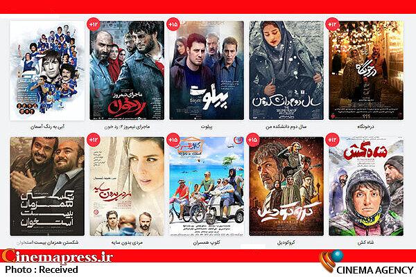 فیلمهای دارای ردهبندی سنی ۱۲+ و ۱۵+
