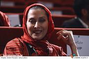 مهتاب کرامتی در مراسم اختتامیه سومین دوره جشن فیلم کوتاه ده