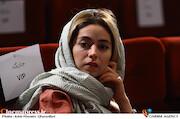 نیلوفر رجایی فر در مراسم اختتامیه سومین دوره جشن فیلم کوتاه ده