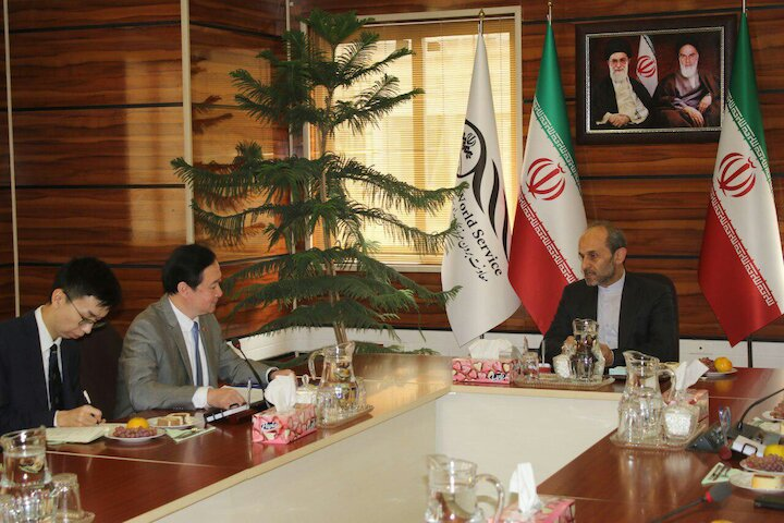 سفیر چین در ایران در بازدید از شبکه های برون مرزی صداوسیما