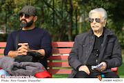 منوچهر اسماعیلی در مراسم تشییع پیکر مرحوم «بیژن علیمحمدی»