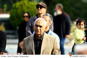ناصر ممدوح در مراسم تشییع پیکر مرحوم «بیژن علیمحمدی»