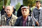 تورج نصر در مراسم تشییع پیکر مرحوم «بیژن علیمحمدی»