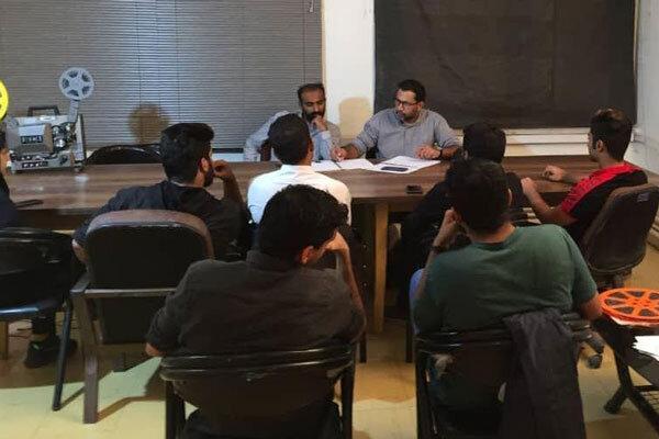 نشست هماندیشی کمیته طراحی و هنر در انجمن سینمای جوانان زاهدان