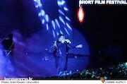 اجرای رضا یزدانی در مراسم اختتامیه سیوششمین جشنواره بینالمللی فیلم کوتاه تهران