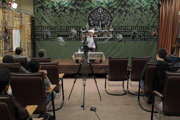 نشست مدافعان فرهنگی حرم