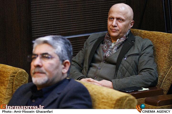 مرتضی رزاق کریمی در رونمایی از پوستر سیزدهمین جشنواره بینالمللی«سینماحقیقت»