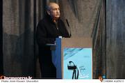 خسرو دهقان در مراسم اختتامیه ششمین جشنواره نوشتار سینمای ایران