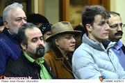 سیروس الوند در مراسم اختتامیه ششمین جشنواره نوشتار سینمای ایران