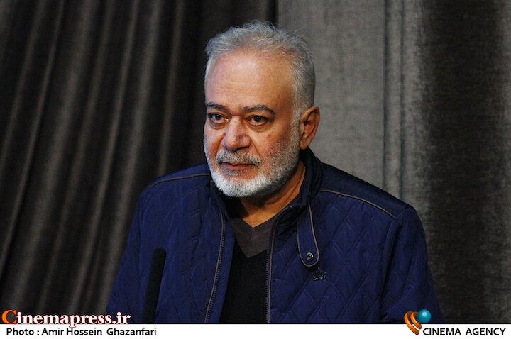 مهدی سجاده چی در مراسم اختتامیه ششمین جشنواره نوشتار سینمای ایران
