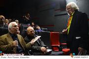 بزرگداشت منوچهر طیاب و احمد ضابطی جهرمی در سیزدهمین جشنواره سینماحقیت