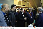 حسین انتظامی به ستاد خبری جشنواره سینماحقیقت رفت