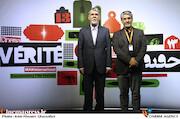 سیدعباس صالحی و محمد حمیدی مقدم در سیزدهمین جشنواره سینماحقیقت