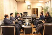 دیدار معاون حقوقی صداوسیما با معاون مالکیت فکری وزارت دادگستری