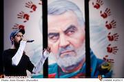 اجرای حامد زمانی در مراسم اختتامیه دهمین جشنواره مردمی فیلم عمار