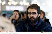 بهروز شعیبی در مراسم قرعهکشی جدول سینمای رسانه در سیوهشتمین جشنواره فیلم فجر