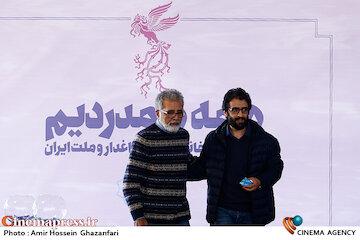 عکس / مراسم قرعهکشی جدول سینمای رسانه در سیوهشتمین جشنواره فیلم فجر
