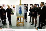 افتتاح نمایشگاه عکس «لحظه قطعی» و رونمایی از پوستر سی و هشتمین جشنواره بین المللی تئاتر فجر