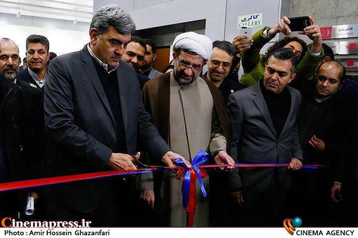 عکس / مراسم افتتاحیه سالنهای جدید پردیس ملت