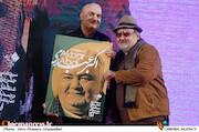 اکبر عبدی در جشن منتقدان و نویسندگان سینما